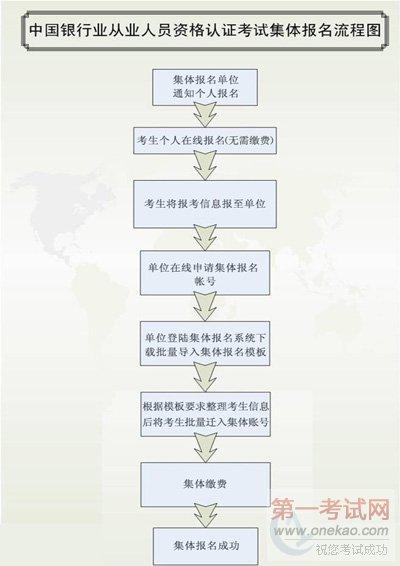 集体报名流程图