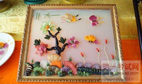—仙鹤,雄鹰,花朵