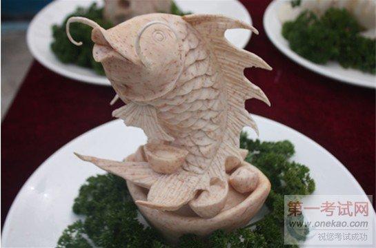 广州新东方烹饪学校雕刻作品展