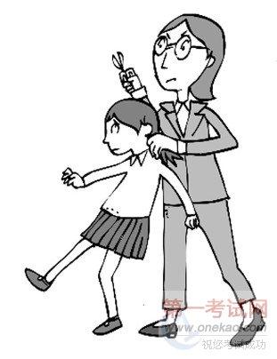 """班主任剪学生校服 师爱何需这般""""毒""""_时事新闻教育_第"""