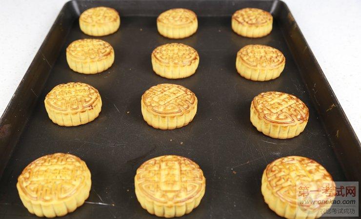 手工月饼制作流程