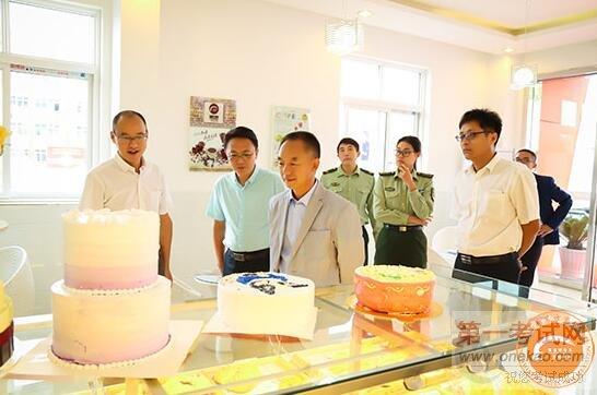 青岛市城阳区民政局,人社局领导一行莅临青岛新东方烹饪学校视察